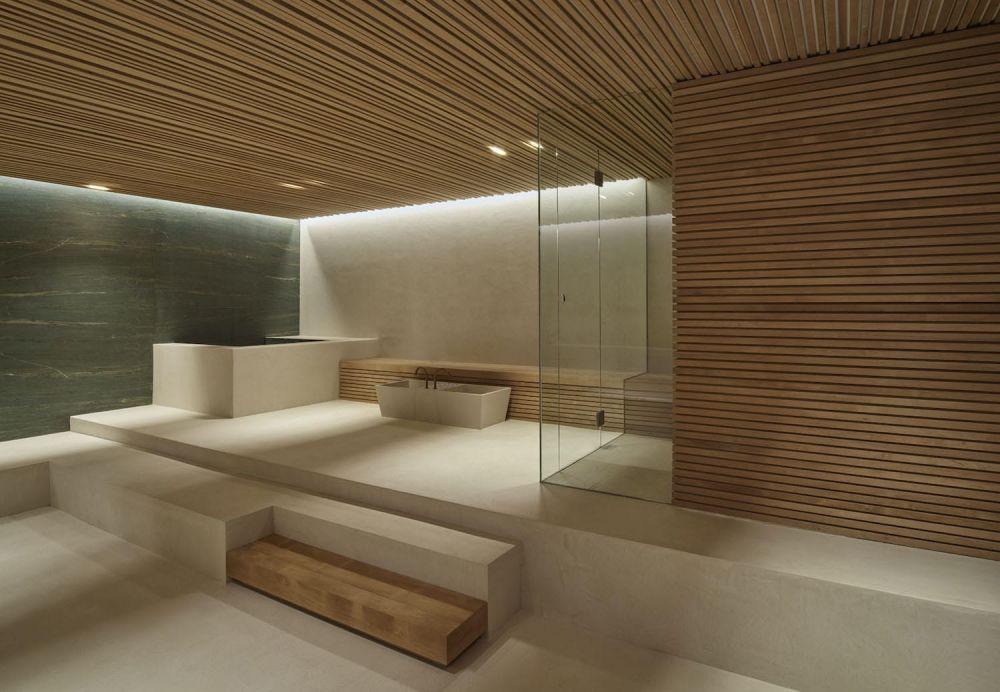 Home spa met domotica installatie